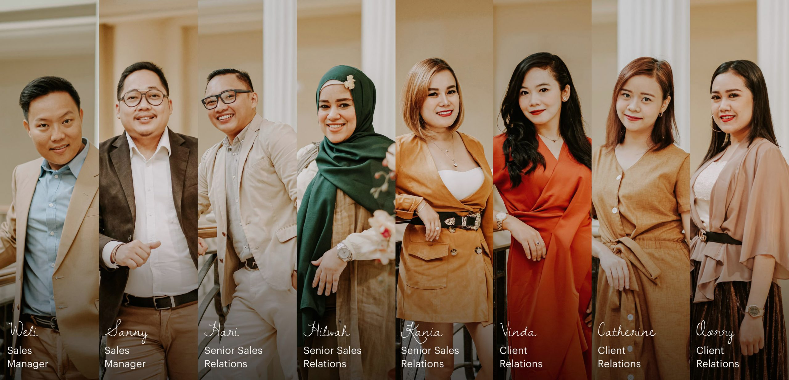 Sales and Client Relations - Tiara Hana Indonesia