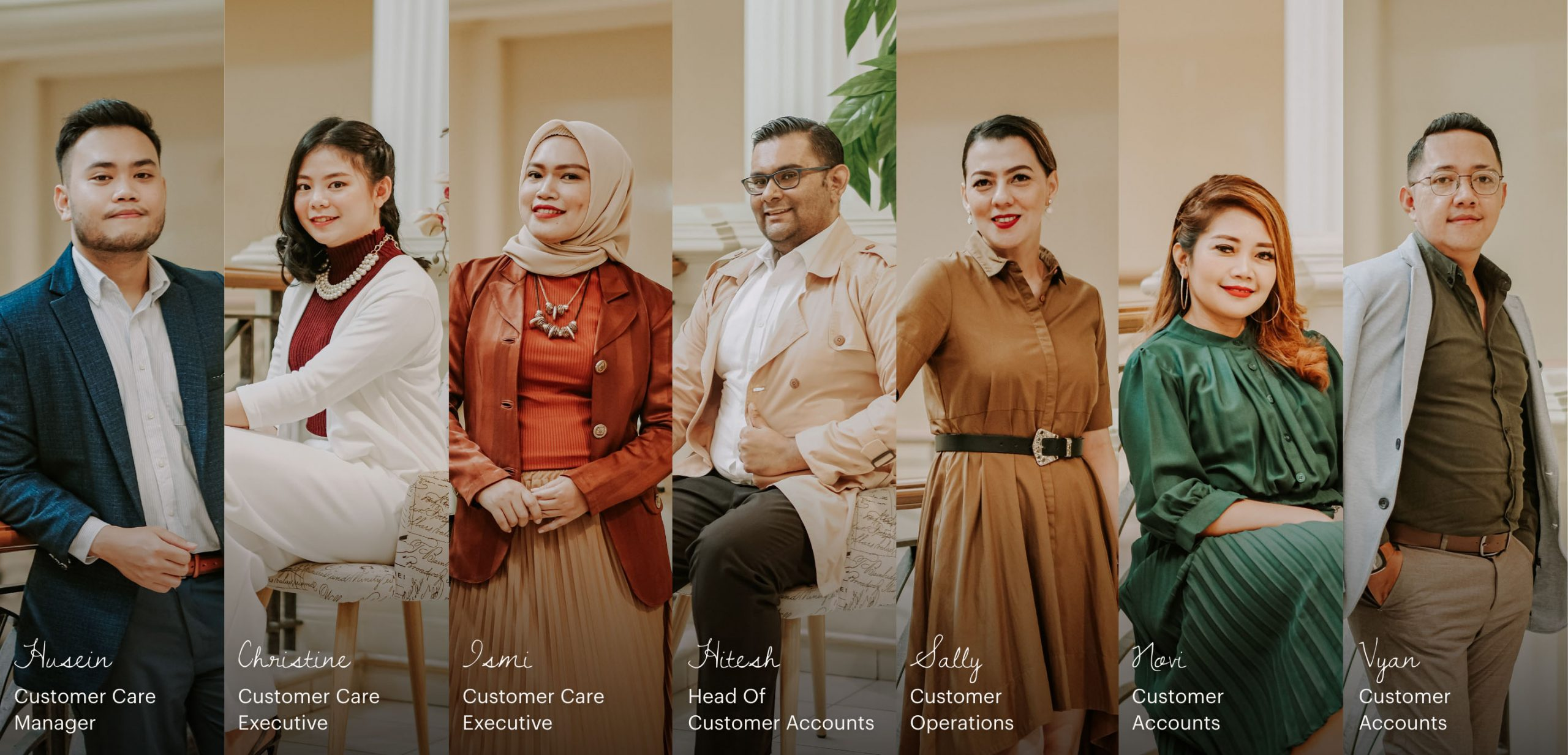 Customer Service and Concierge - Tiara Hana Indonesia