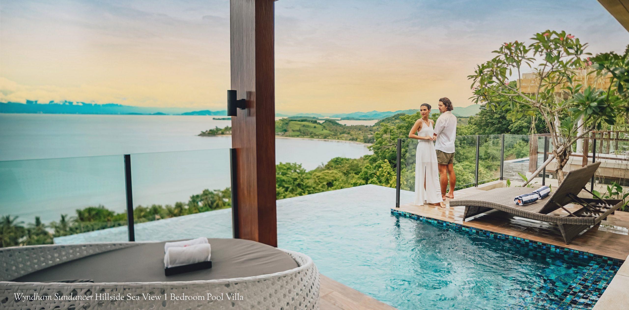 Wyndham Sundancer Hillside Sea View 1 Bedroom Pool Villa
