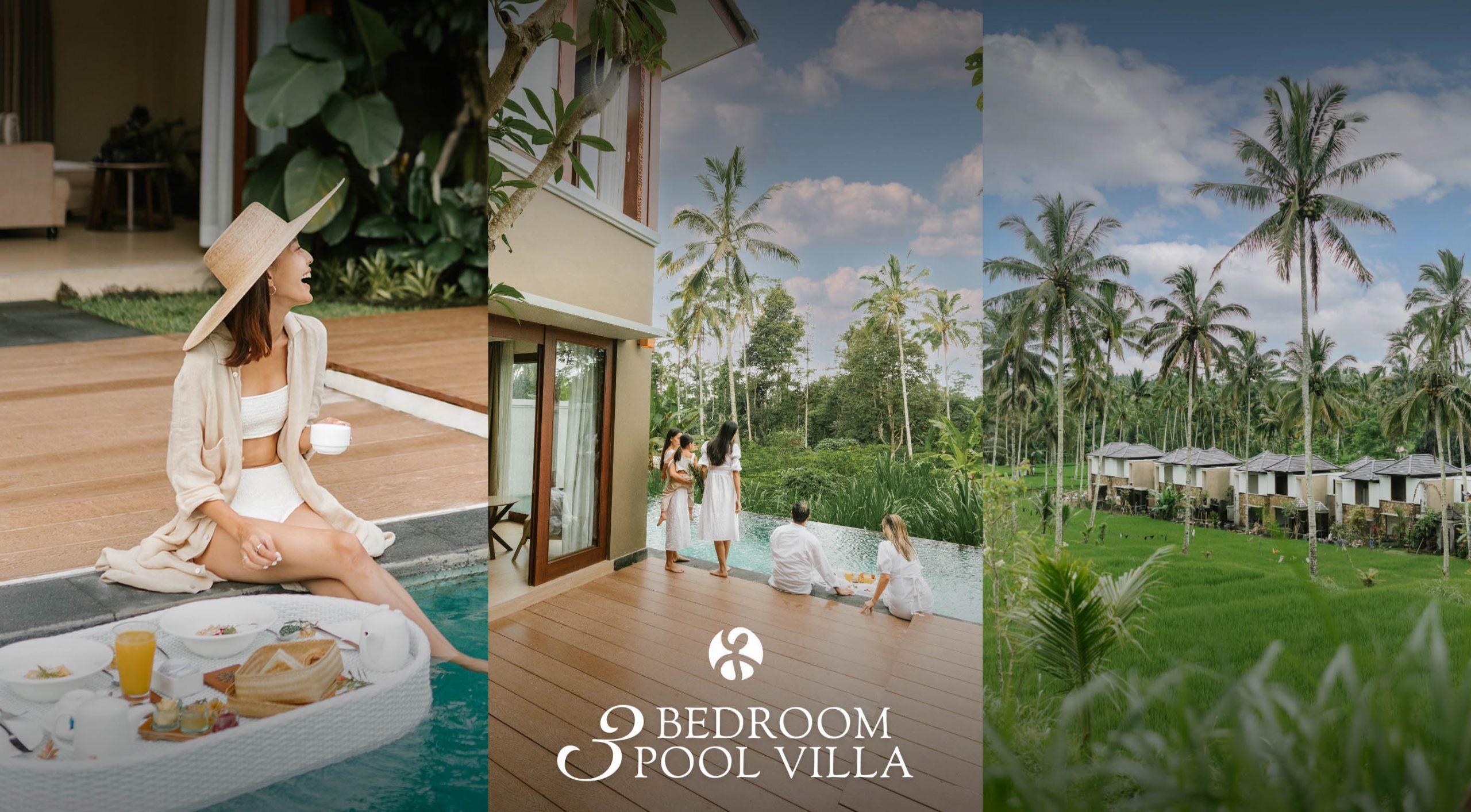 3 Bedroom Pool Villa - Stanagiri Retreat Ubud Bali