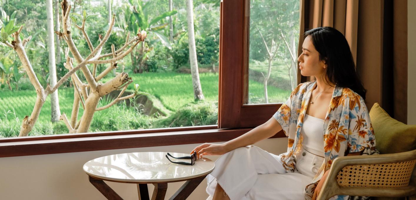 Vanity & Bathrooms | 3 Bedroom Pool Villa Stanagiri Retreat Ubud Bali