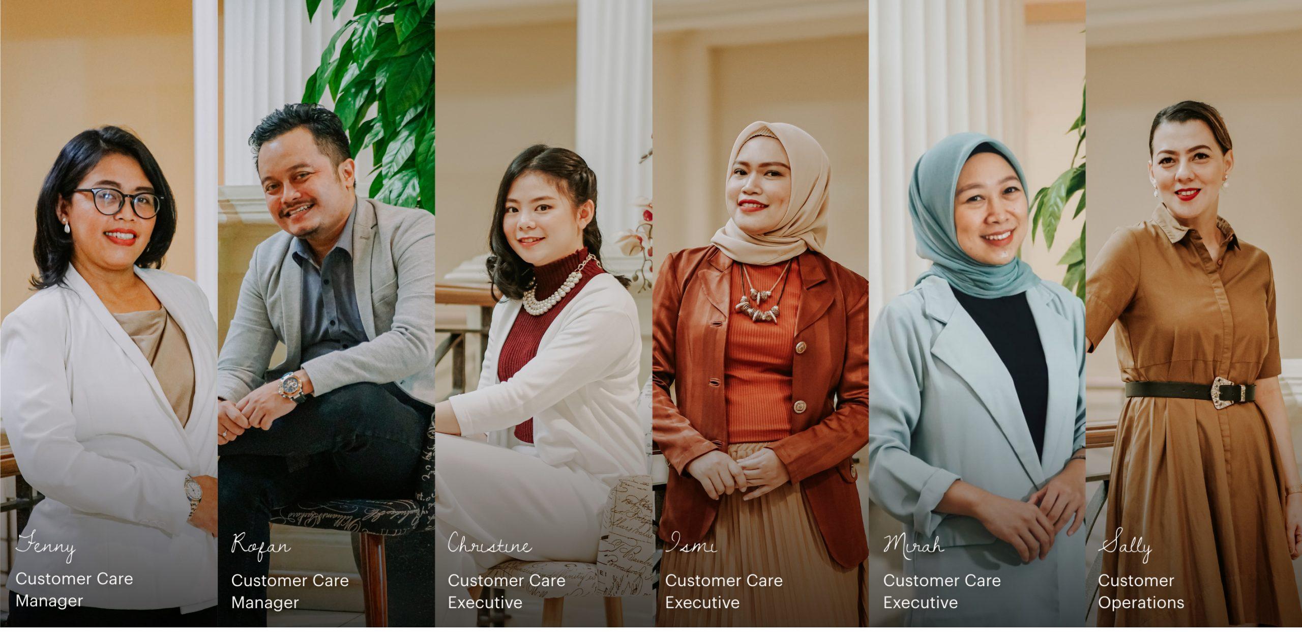 Customer Service and Concierge - Tiara Hana Indonesia
